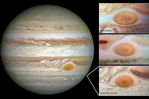 Jupiter's Shrinking Spot