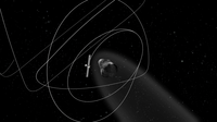 A decade-long comet chase