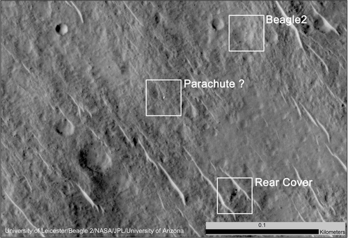 NASA probe sniffs out Beagle-2