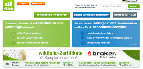 Alternative Investing Startup Wikifolio Raises €6M For International Expansion
