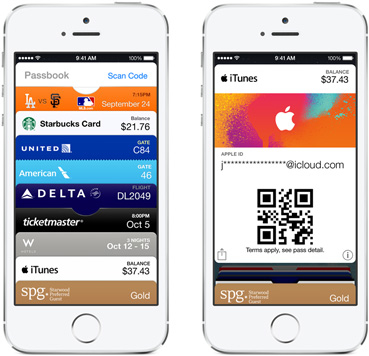 Top-up your iTunes account in-store with Passbook