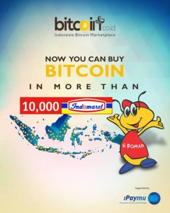Bitcoin Available at 10,000 Indomaret Stores in Indonesia