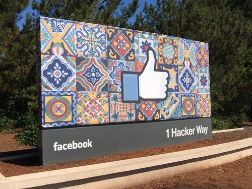 Facebook gets a