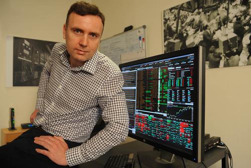 Ex-Bloomberg exec challenging terminals with mobile platform