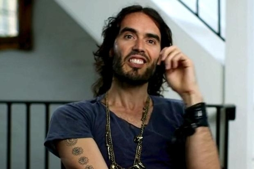 Russell Brand, bankers' scourge, holds on to their cash