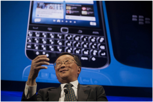 Old blackberries came to the rescue after sony's systems were hacked