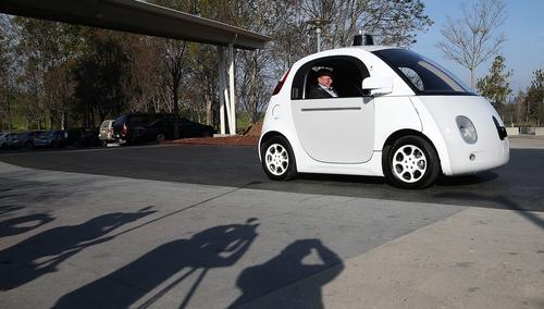 Ooops! Google Self-driving Car Strikes Bus on California Street