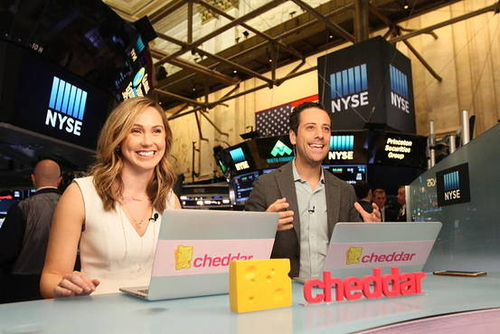 Cheddar Raises $10M for Business News Video Service