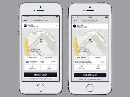 Uber and Amex partner up allowing customers to earn and use points