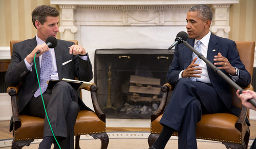 Checking in with Obama: Banking reform