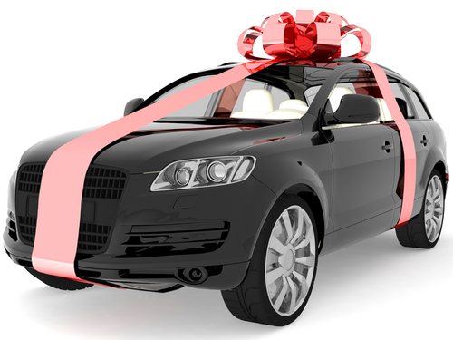 Buy a car with bitcoin and have it delivered with a bow