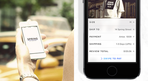 Tinder-style shopping app lets users buy with a swipe