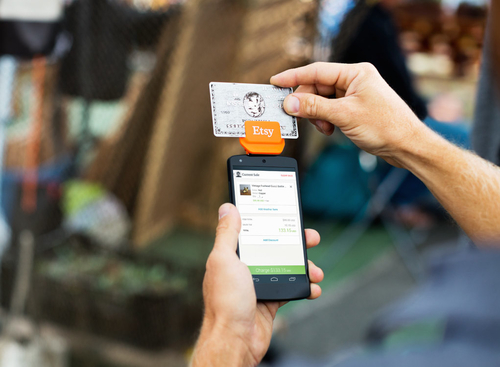 Etsy introduces a credit card reader to go beyond the web