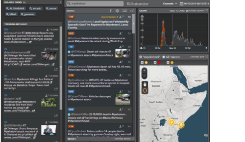 Dataminr raising $50m to dig data out of social media for investors