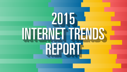 The most important insights from Mary Meeker's 2015 Internet Trends report