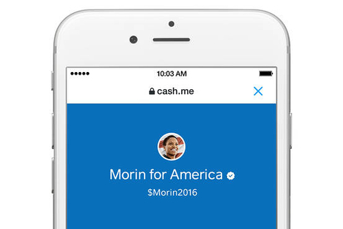 Twitter and Square working together on Presidential donation service...Thanks Jack Dorsey