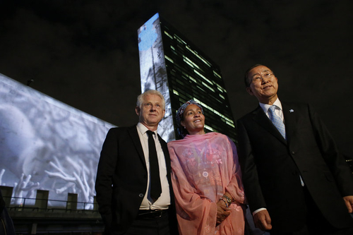 The man who booked Beyonce to sing in Central Park to support the U.N.'s goal to end poverty