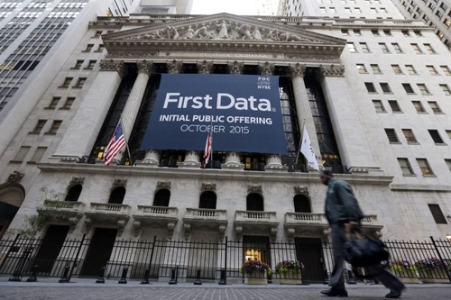 First Data Opens Only 2.4% Up and Closes Below IPO Price