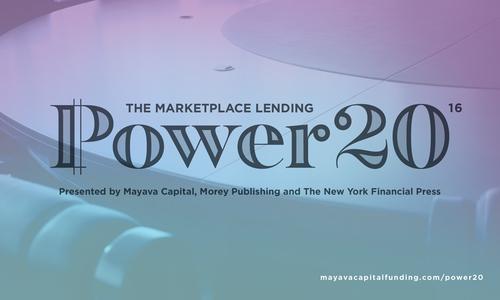 Marketplace Lending Power 20