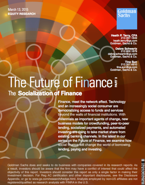 Openfolio catalyzing the socialization of finance