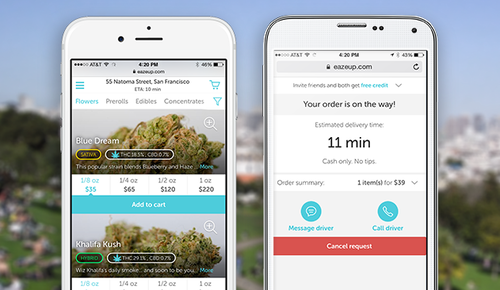 Uber-for-weed startup raises $10m Series A