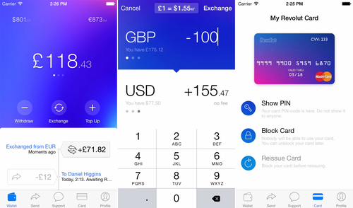 UK based Revolut raises $2.3 million for mobile foreign exchange service