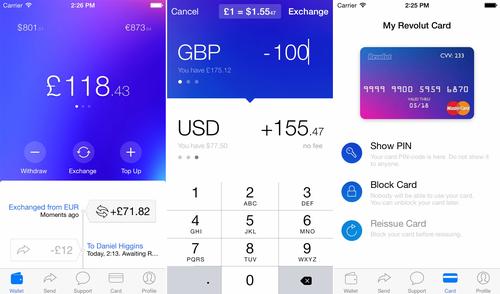 UK based Revolut raises $2.3 million for mobile foreign exchange service