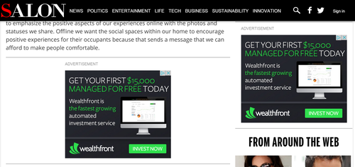 Wealthfront CEO's actions causes Twitter battle of opinions