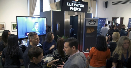 MasterCard uses an elevator pitch to help end poverty