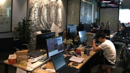 Inside the long hours at China's start-ups