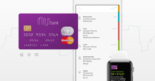 Brazil's Nubank to take on the big boys in financial services