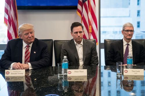Peter Thiel's Palantir is powering Trump's immigration agenda