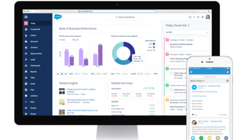 Salesforce to launch new advisor-centric platform