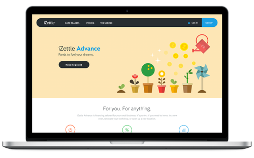 iZettle gets $67m to expand from mobile payments to small business financing