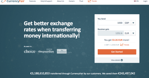 CurrencyFair scores further €8M for p2p currency exchange
