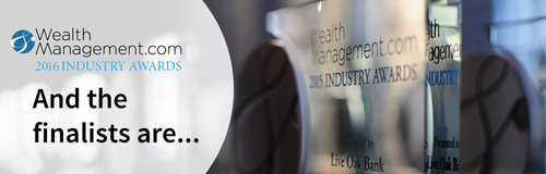 Quovo chosen as Wealth Management 2016 Industry Awards Finalist