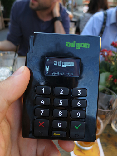 Dutch payments firm Adyen sees revs doubling to $1.5 bln in 2017