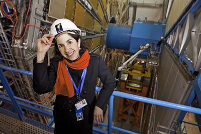 Finally: CERN gets a female director