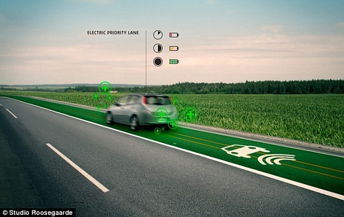 Interactive road markings