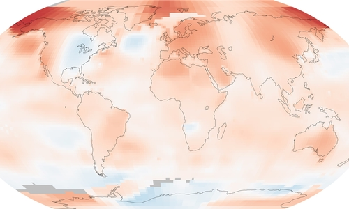 Global warming has not hit 'pause'