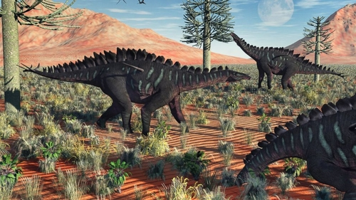 Dinosaurs probably ate psychedelic fungus