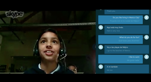 Check out Skype Translator!