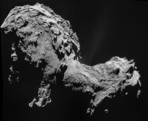 Rosetta Arrives at 67P Churyumov-Gerasimenko