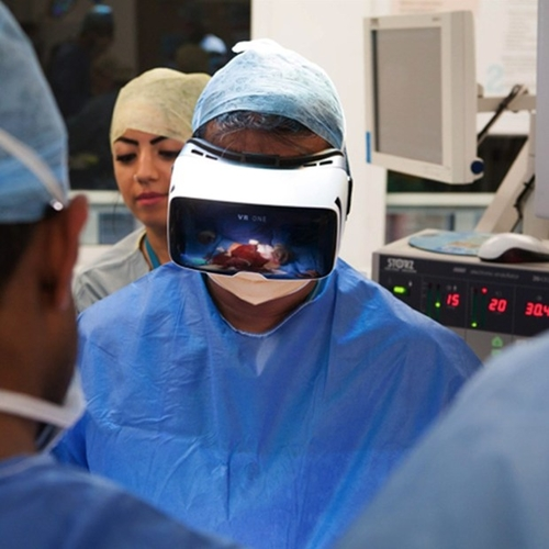 Watch World's 1st Live Virtual Reality Operation Thu 14 April 2016 13.00 UK Time