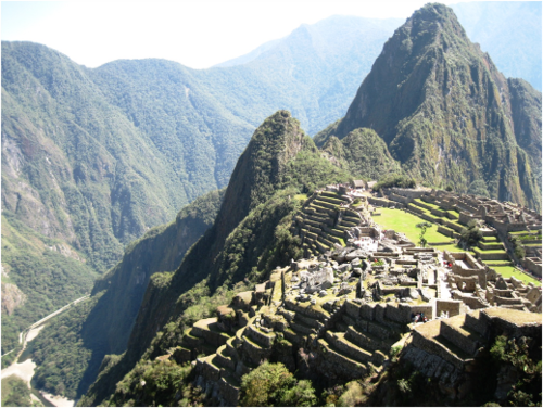 Engineering Machu Picchu