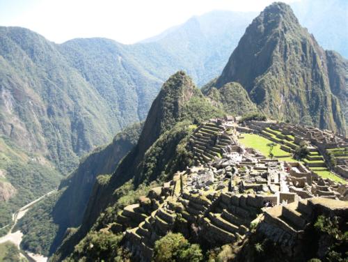 Engineering Machu Picchu
