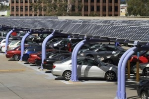 Solar power and carparks