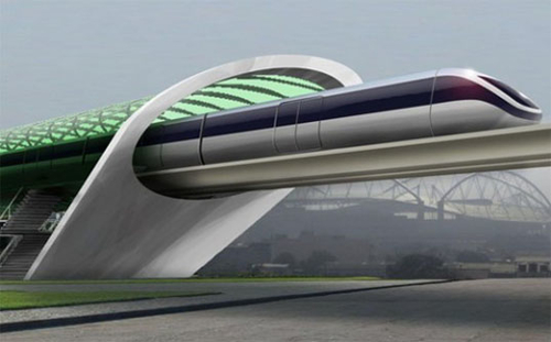 Hyperloop Test Track in Texas
