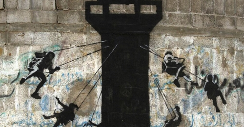 Storytelling for Change: Banksy's take on War-Torn Gaza