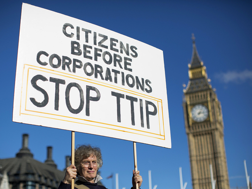Food: Politicians can't compromise to reach an agreement on the TTIP